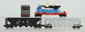 Lot Of 4: Lionel Assorted Items.