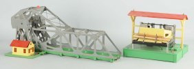 Lionel Grey No. 313 Bascule Bridge & Lumber Loader