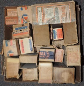 Lot Of Assorted Lionel Train Boxes.