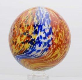Large 5-paneled Onionskin Marble.