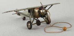 Hubley Large Cast Iron Spirit Of St. Louis Plane.