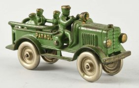 Cast Iron Hubley Patrol Wagon.
