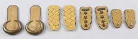 Lot Of 4: Epaulettes And Three Shoulder Boards.