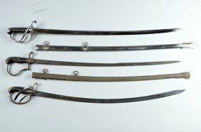 Lot Of 3: Swords.