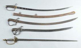 Lot Of 4: Swords.