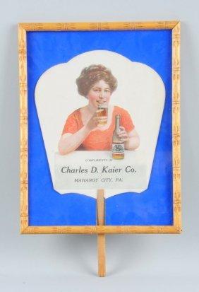 Kaier's Beer Hand Fan.