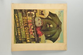Contemporary Bull Durham Tobacco Poster.