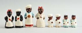 Lot Of Four Pair Of Black Americana.