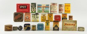 Large Lot Of Spice Tins & General Store Items.