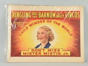 Ringling Bros. Barnum Bailey Circus Poster.