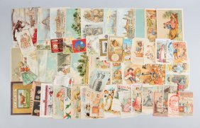 Lot Of 20+: Baking Soda & Food Related Trade Cards
