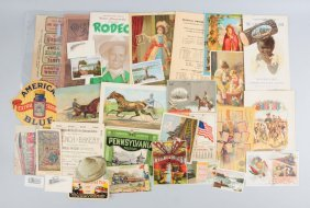 Lot Of 20+: Soap Related Advertising Pieces.