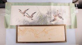 Lot Of 2: Japanese Woodblock Prints.