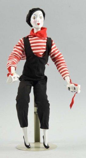 "Mib 1985 Porcelain Enesco ""mime"" Doll."