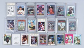 Large Lot Of 20: Vintage & Contemp. Sports Cards.
