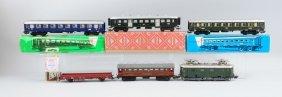 Lot Of 7: Marklin Ho Train Cars.