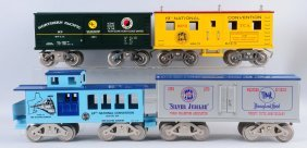 Lot Of 4: Mccoy Freight Cars.