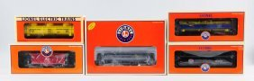 Lot Of 5: Lionel Rolling Stock.