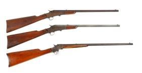 (C) Lot Of 3: Remington .22 Rifles.