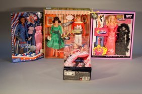 Lot Of 4 Barbies