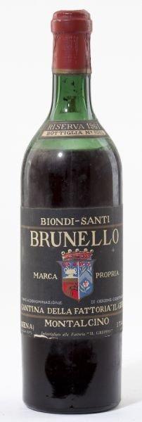Brunello Di Montalcino - Vintage 1961