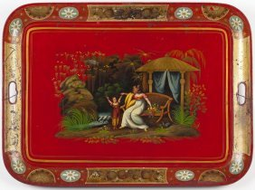 Chinoiserie Tole Tray