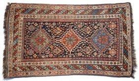Semi-Antique Kurdish Rug