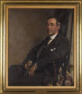 Sir William Orpen, Portrait Of Sir Ernest Benn