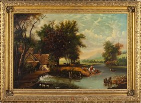 English School Landscape Painting