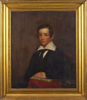 Portrait Of A Young Man, 19th Century