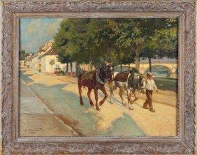 Paul Sieffert (Fr., 1874-1957), Village Lane