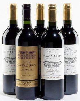 2000 Chateau Rauzan-Segla & 1995 Cantenac Brown