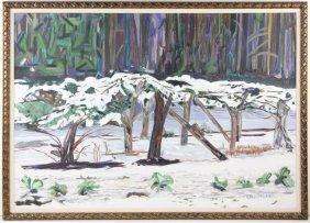 Elizabeth M. Kirkland (NC), Snow Scene