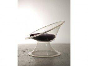 Lucite Buttercup Chair Erwin & Estelle Laverne