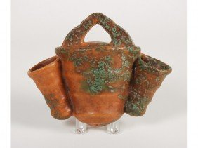Roseville Imperial II Triple Pottery Wall Pocket