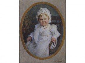 Wm. J. Whittemore 1860-1955 Self Portrait Painting