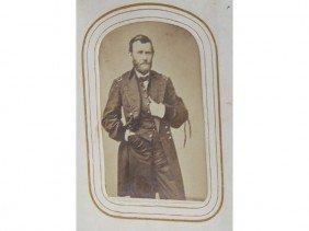 Photograph Album 19C Grant, Lincoln & Tom Thumb