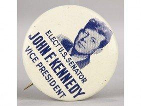 Original John F. Kennedy  Vice President Pin Back