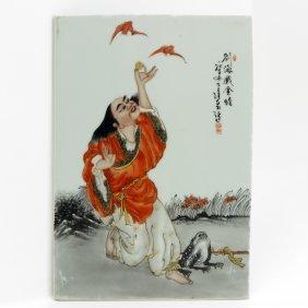 China Porcelain Plaque