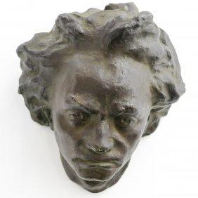 Bronze Sculpture Depicting Bethoven