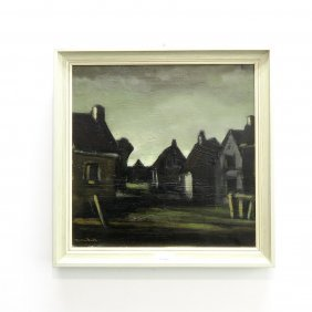 Tietdo Bodt Oil On Canvas