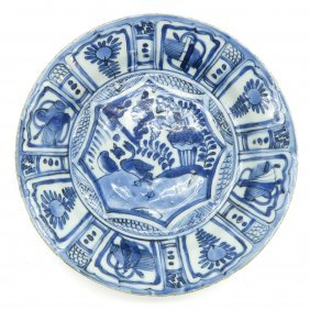 18th / 19th Century China Porcelain Plate
