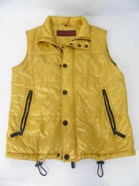 Designer Burberry Gold Colored Vest