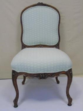Antique French Carved Side Chair