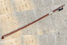 Vintage H. R. Fretzscher Cello Bow