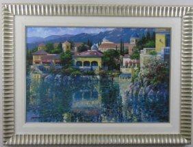 """Howard Behrens """"brushstrokes"""" Painting"""