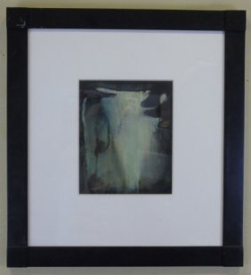 Brenda Goodman Abstract Oil On Paper, Untitled