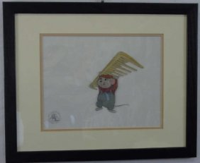 "Walt Disney Animation Cel Bernard ""the Rescuers"""