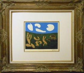 "Pablo Picasso ""black Bull, Faun & Bacchanals"""