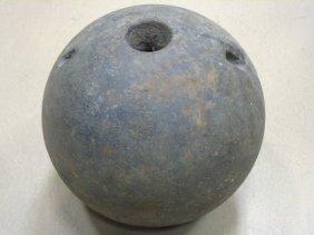 Antique Civil War Mortar Round Cannon Ball